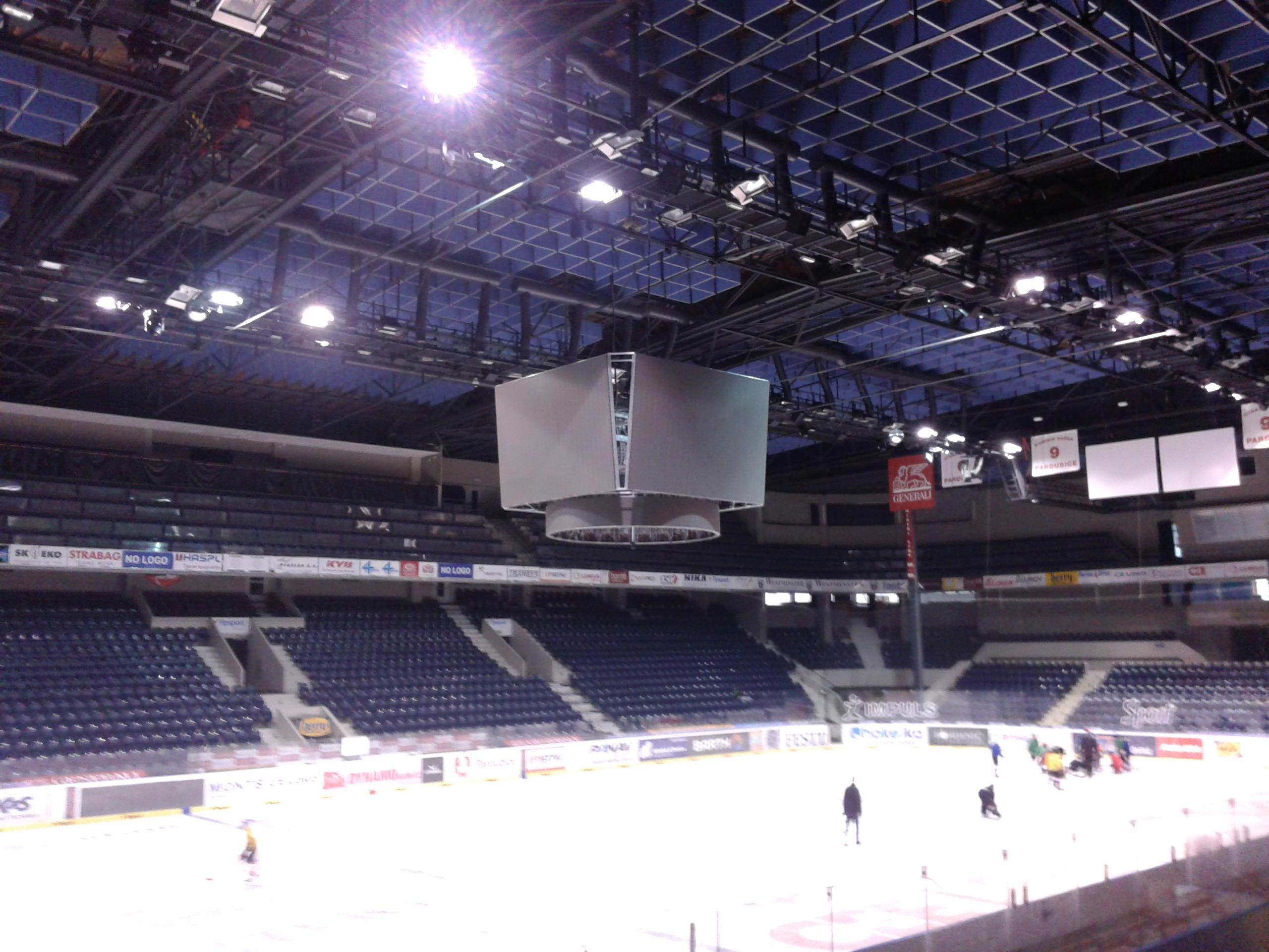 Výsledek obrázku pro zimní stadion pardubice